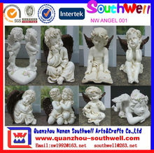 Resin Angel statues for Garden Decoration