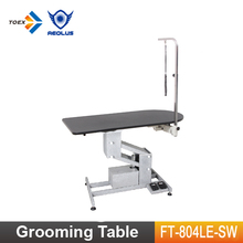 FT-804LE-SW Luxury Arm Adjustable Electric Dog Show Table Pet Grooming Tables