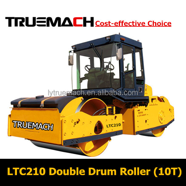 10Ton Hydraulic Double Drum Vibratory Road Roller