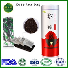 Factory supply rose flower rose in tea bags