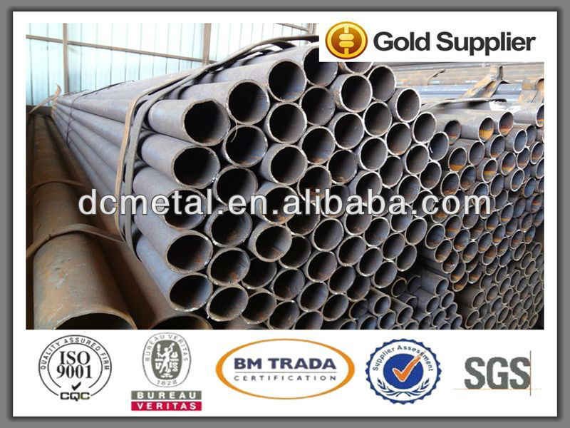 hot dip galvanized steel pipe trading, zinc coated round steel pipe