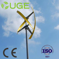 UGE 4KW VAWT Vertical Axsi Wind Turbine / Wind Power Generator