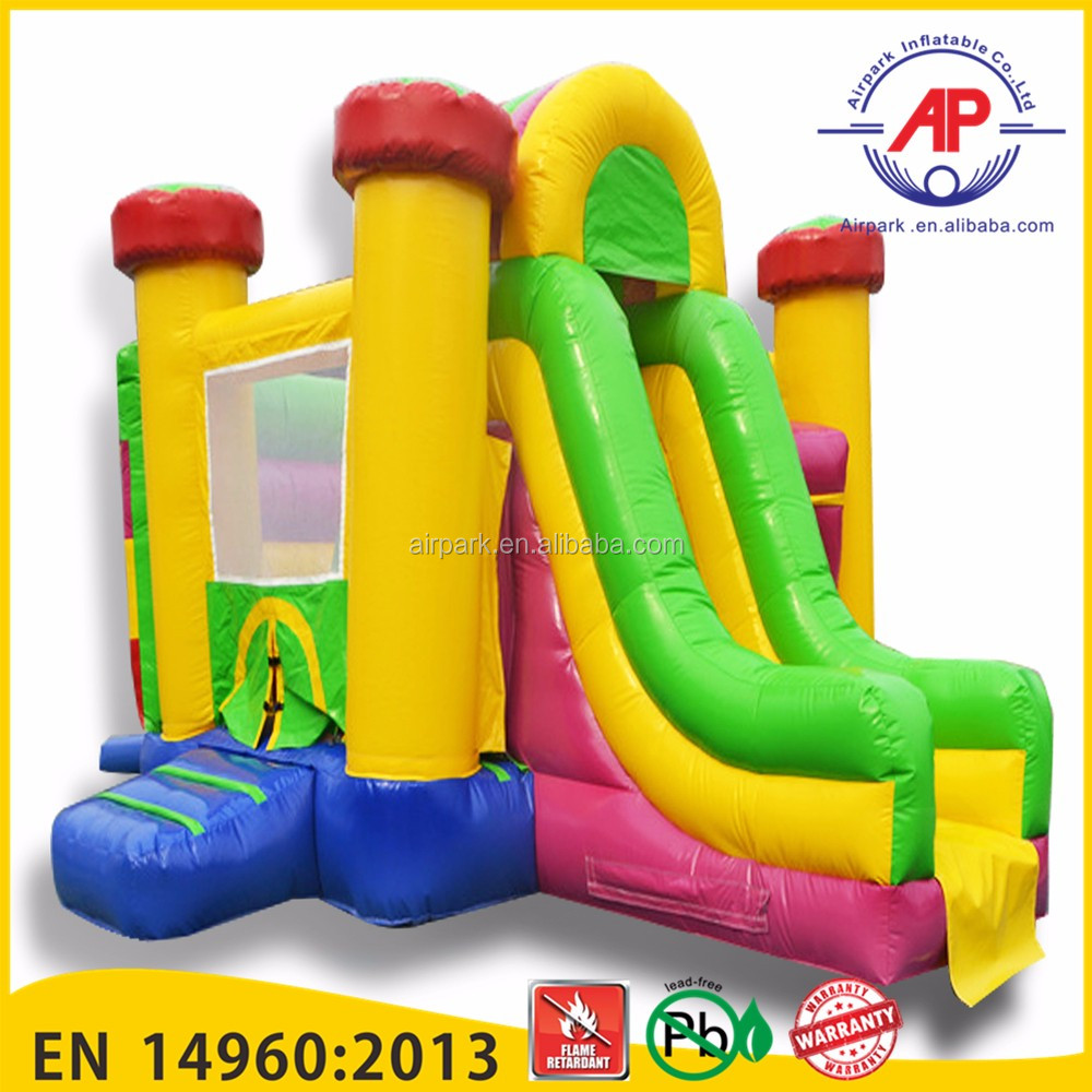 Guangzhou Airpark inflatable castle fun city , inflatable castle with slide , inflatable castle for kids