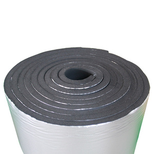 aluminum foil nitrile rubber foam sheet price insulation 20mm thick roll