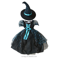 Halloween witch girls costume