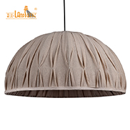 Vintage European Table Lamps Shade Linen Shade Printing Floor Lampshade for Home Decoration