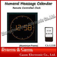 Remote Controlled LED Digital Clock
