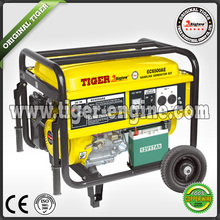 TIGER(CHINA)5KW Cheap Portable Welder 7HP Gasoline Generator Manual