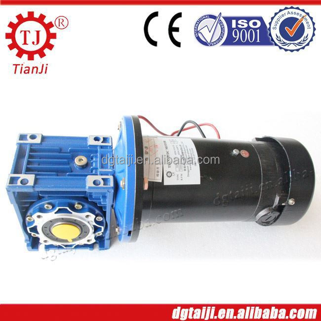 lifting machine gear reduction 24v dc motor,dc motor