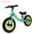 Small mini boys aluminium alloy pneumatic wheel 12 incn balance bike with brakes for walking no foot pedal
