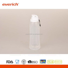 Everich 750ml free samples traveling private lable collapsible water bottle