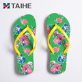 2018 fashion EVA foam beach summer slipper shoes flip flops