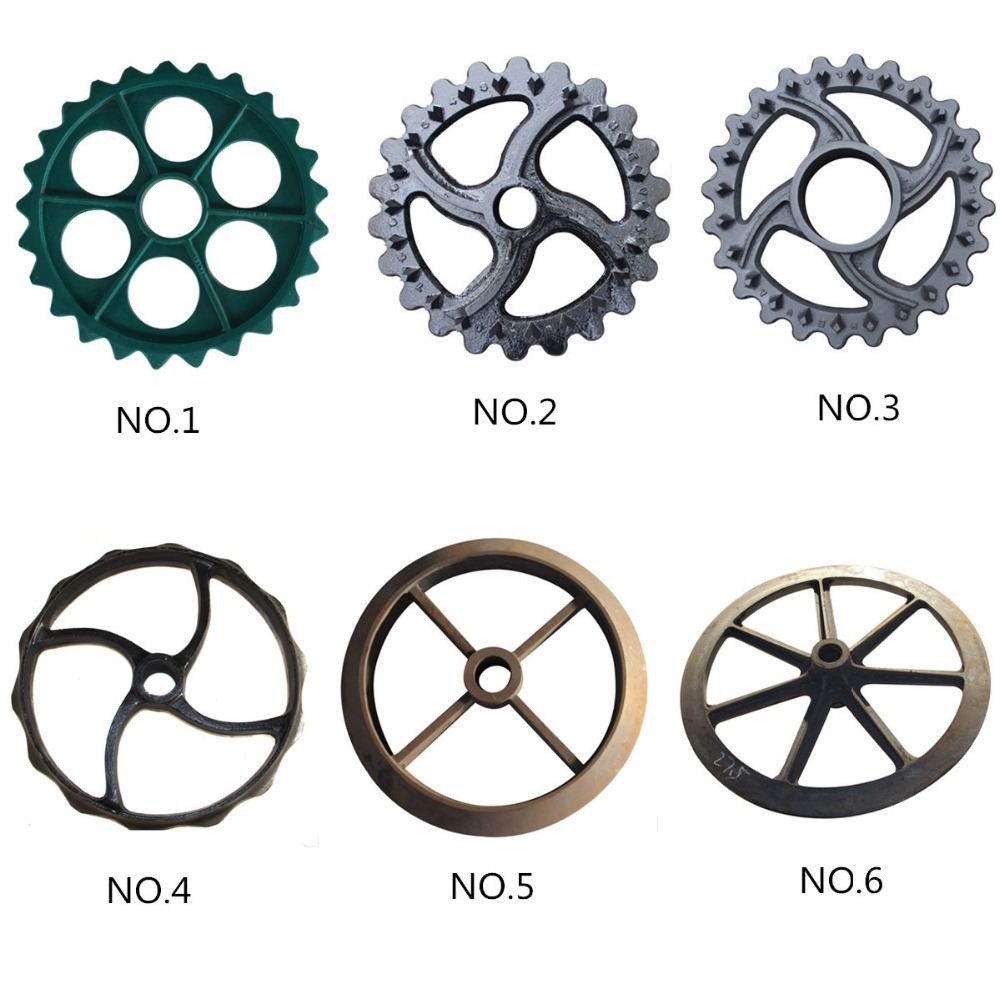 ATV Cultipacker sprocket wheels