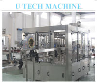 Full automatic drinking water beverage production line or filling plant