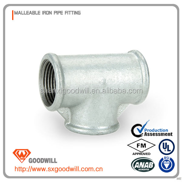 tee joint pipe tube pipe fittings