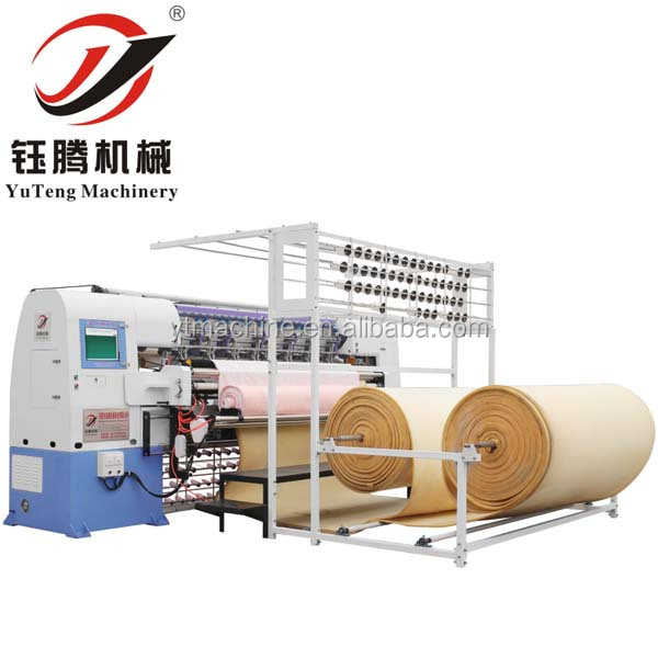 Spring Mattress Cover Multi needle Quilting Making Machine