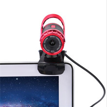 HD Webcam 1080P USB Computer Camera Portable Web Cam Web Camera Rotates 360 Degree Network Camera with Built-in Microphone