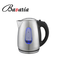 2018 new style Modern Design 1.8L Hot Water Kettle LED light Front Water Tube