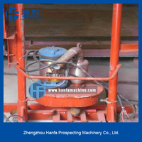 for water well drilling,small volume, light weight HF150E home use drilling machine, can drill 150m depth,