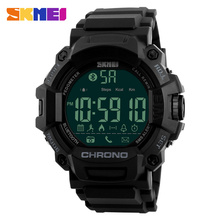 Calorie counter relojes inteligence bluetooth sport smart watch mechanical remote camera SKMEI