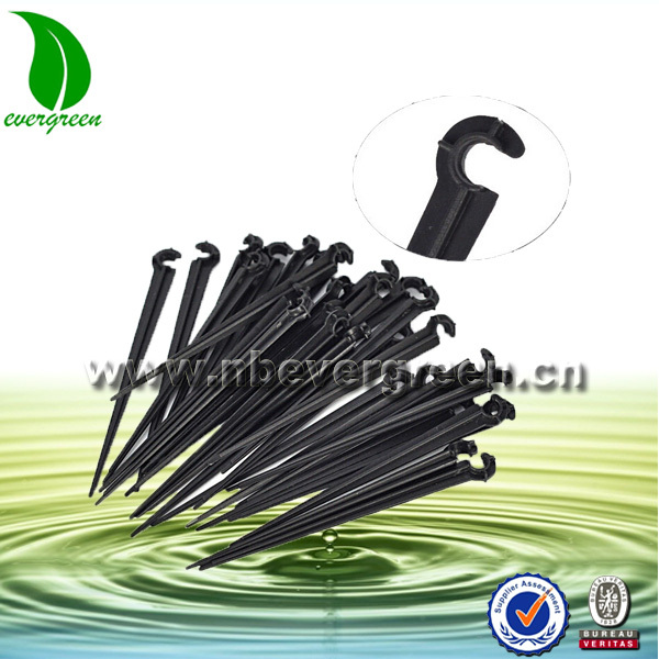 agricultural farm drip irrigation system plan watering spike drip line support stake
