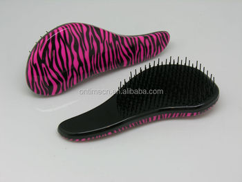 fashion detangling hairbrush, professional detangling brush, detangling comb