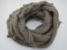 fashion crochet knitted winter warm thick infinity scarf new product for 2015