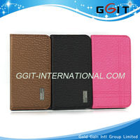 Competitive Price PU Flip Case Cover For Samsung S4 i9500 For Galaxy S4, High Quality