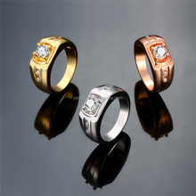 trending hot products on alibaba 18K gold plated gold ring
