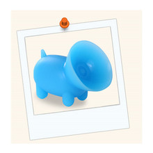 So Hot Customized Designs Colorful Silicone Mobile Phone Stand,Silicone Phone Sucker Stand Cute Pig Shaped Phone Holder
