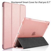 Shockproof Smart Cover Case With Stand and Auto Wake & Sleep Function for Apple iPad Pro 9.7 inch Tablet 2016 Released
