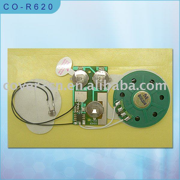 light sensor sound module/greeting card music module/sound chip