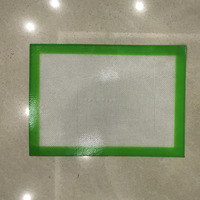 "Silicone Baking Mat - for Lining Pastry Pans - Non ick Surface Sheet Makes Baking Easy 10""x14-3/8"""
