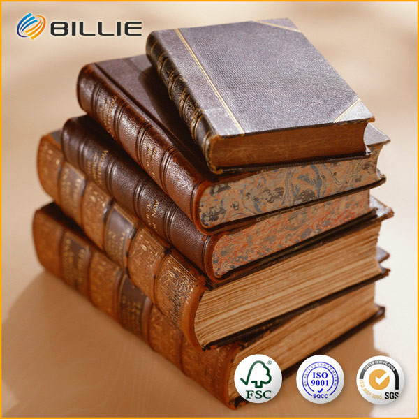 Superior Quality of BILLIE Leather Book With Sewing Binding