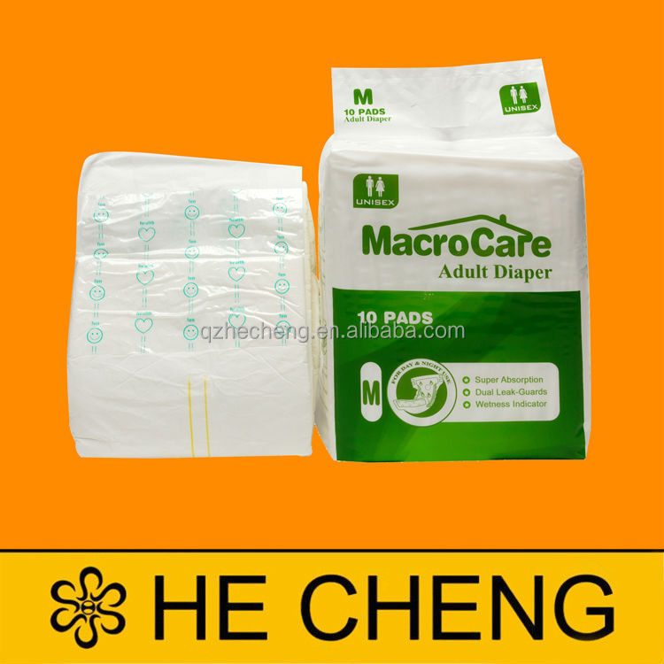 Macro Care Disposable Adult Diapers Plastic Pants