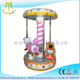 Hansel small business kids mini carousel rides for sale