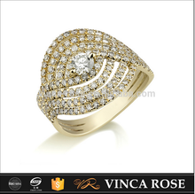18k gold diamond latest gold finger men's ring designs jewellery