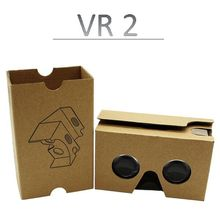 Wholesale 3D Cardboard Glasses virtual reality VR 3D glasses Custom Google Cardboard VR