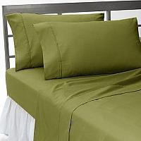 800TC UK BEDDING COLLECTION 100% EGYPTIAN COTTON SAGE SOLID