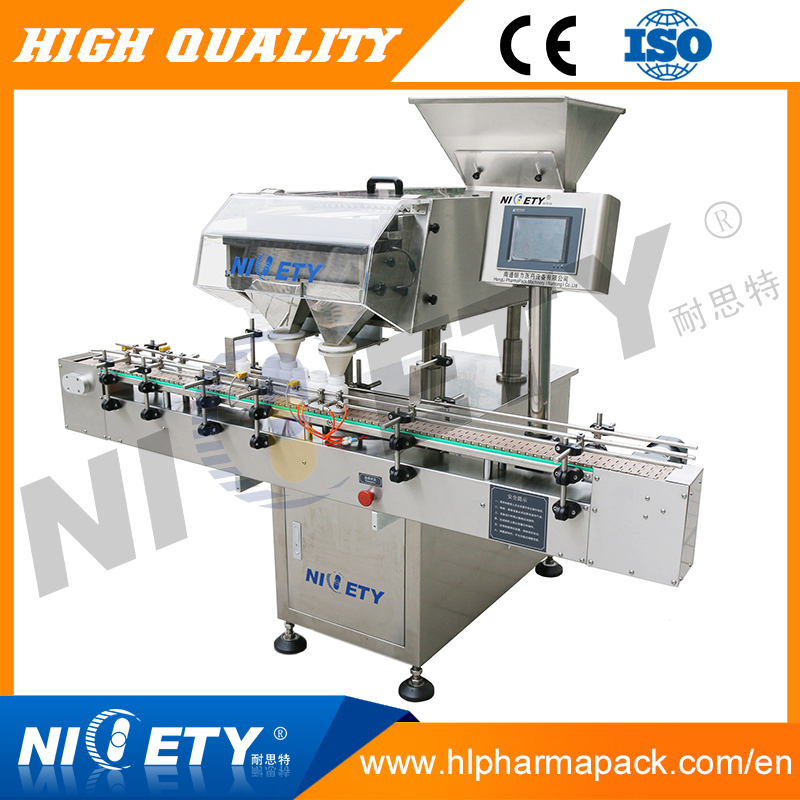marshmallow cotton sugar candy counting and automatic packing machine