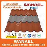 Lightweight stone coat roof tile/sheet,qualified replacement of terracotta metal roof tile