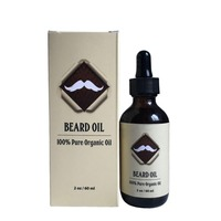 Naturals Organic Beard Oil & Leave-In Conditioner 2 oz- 100% Pure & Natural Unscented - Best for Groomed Beard Growth-585068