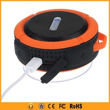 Wireless outdoor bluetooth speaker portable with stero voice