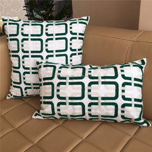 Hot Selling Chain Embroidery Cushion