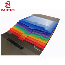 Office Products Letter size PP plastic expanding file folder