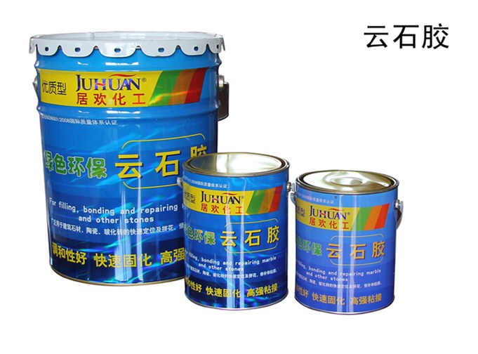 JUHUAN clear marble adhesive glue for tile and ceramic