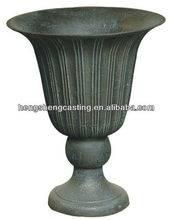 European Classic Cast Iron Decorative garden urns