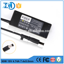 Best selling 90W 19V 4.74A laptop cassette adapter For HP