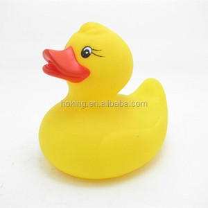 Weighted floating yellow bulk rubber ducks