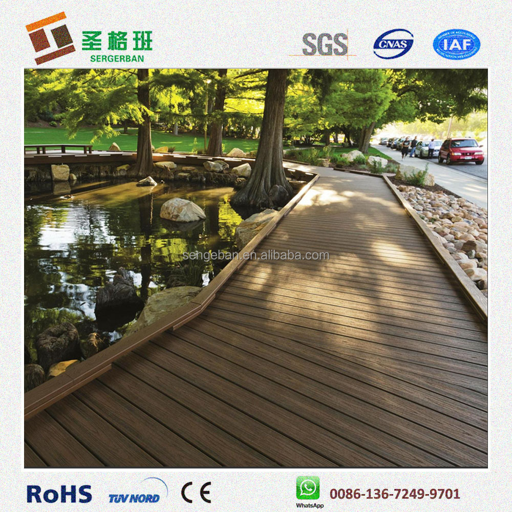 eco-friendly wpc flooring, outdoor veneer decking, composite decking china